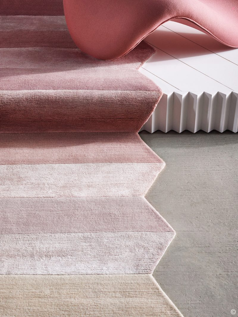 Deirdre Dyson Exclusive Carpets and Rugs CONCERTINA