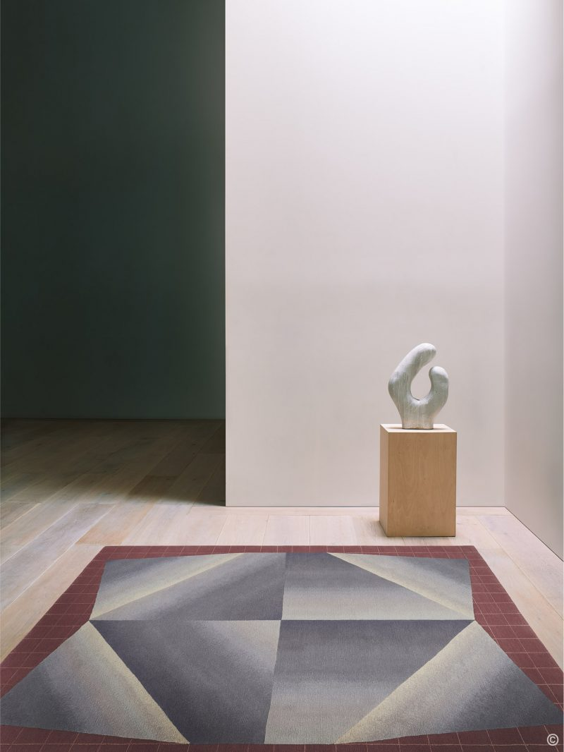 Deirdre Dyson Exclusive Carpets and Rugs UNFOLDED