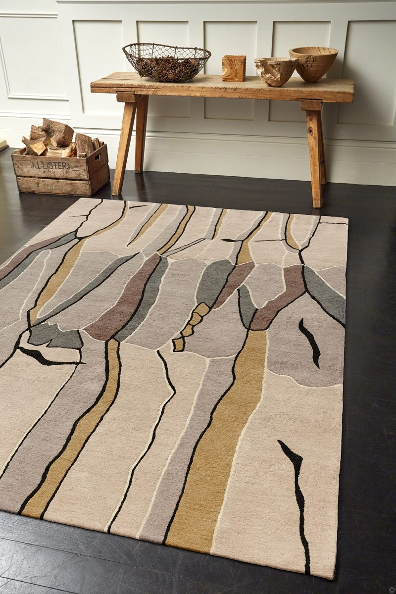 Deirdre Dyson Exclusive Carpets and rugs Tree Bark Lifestyle