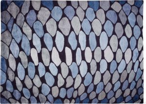 FISH SCALES blue