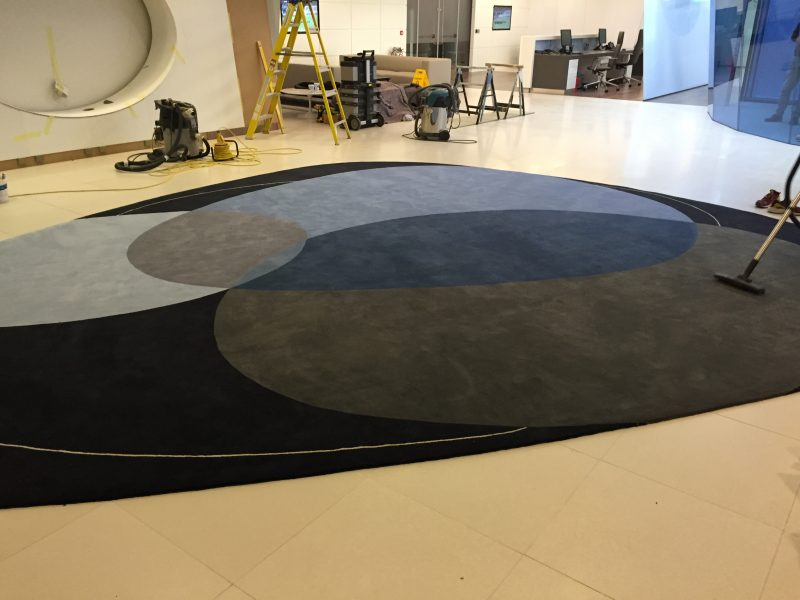 Large Scale Bespoke Rug