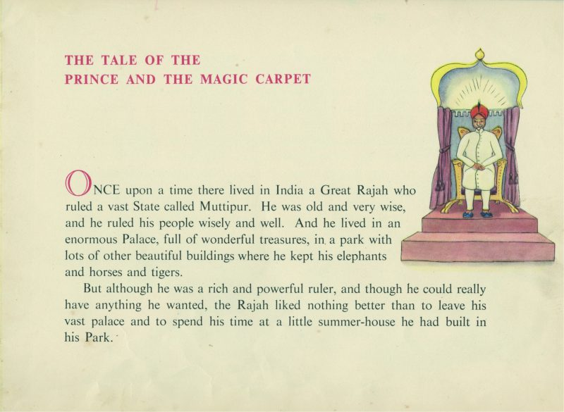 The Prince and the Magic Carpet