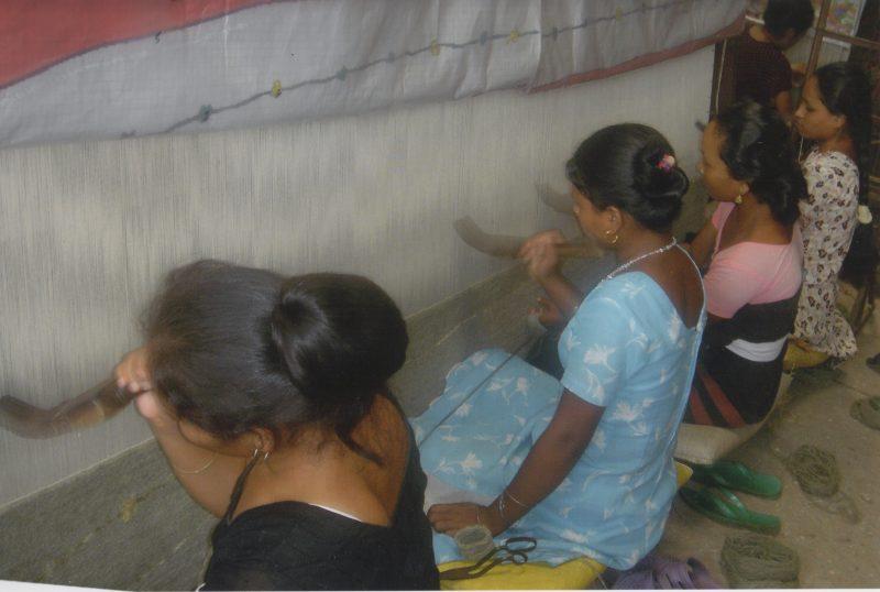 Weavers at Work