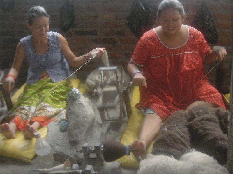 Yarn making